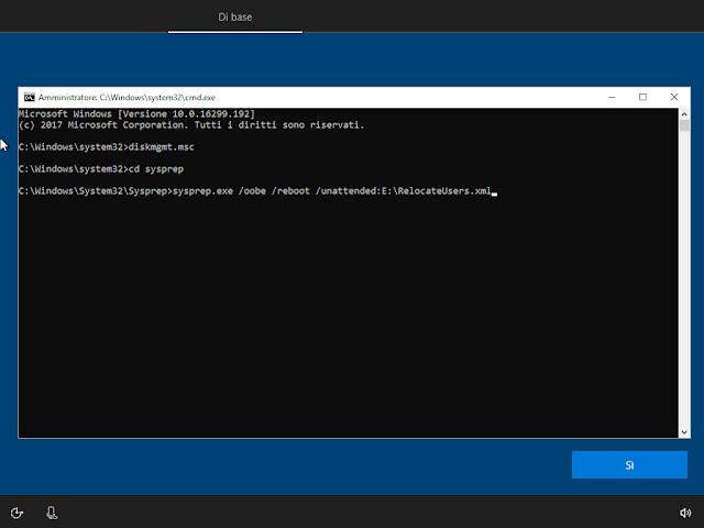 Windows 10, Sysprep