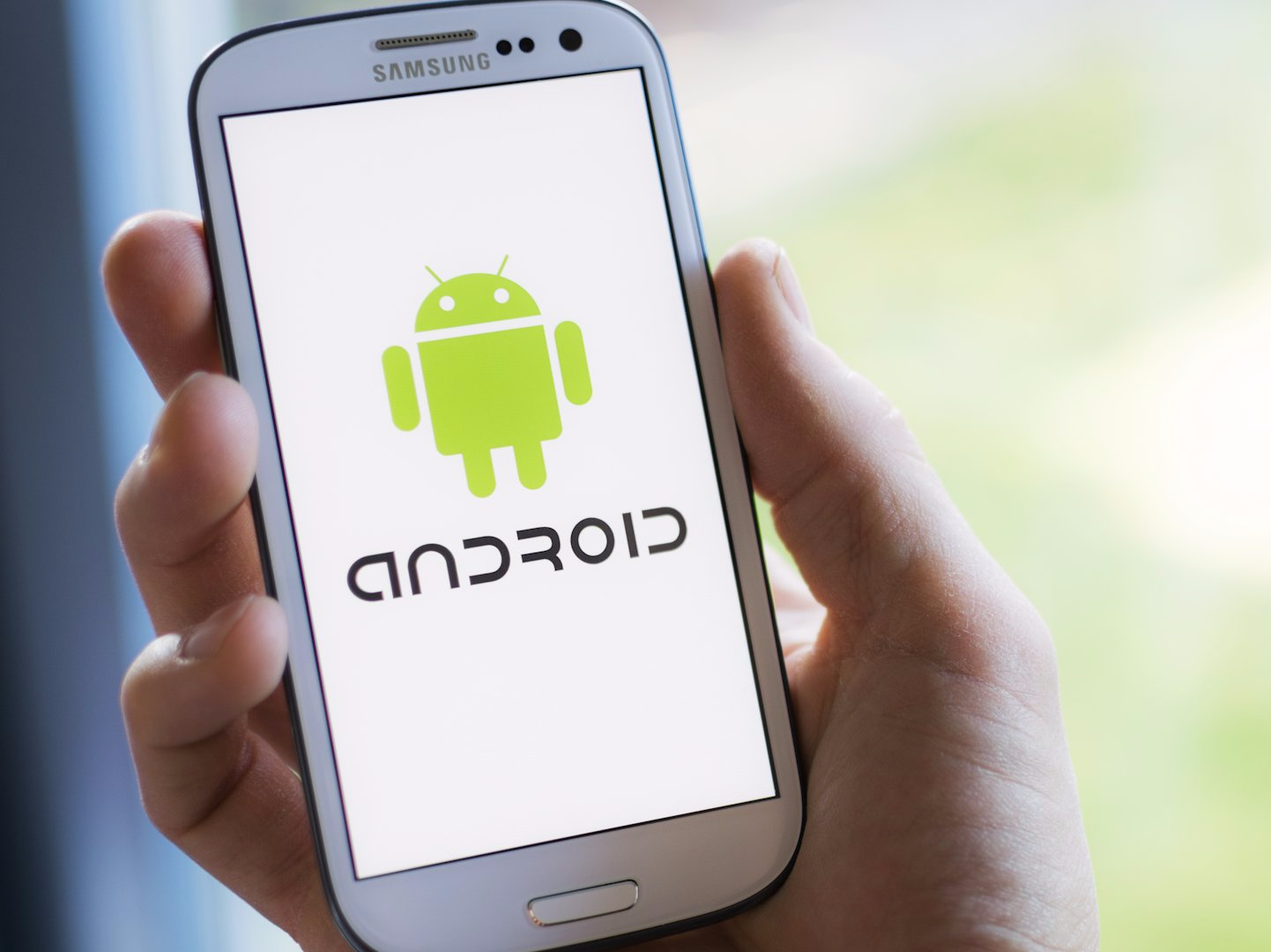 versão antiga android smartphone