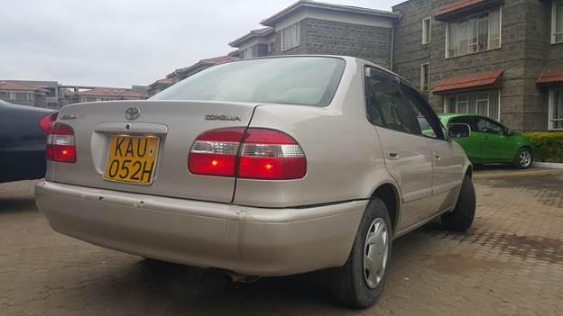 NairobiMail: Toyota Corolla AE110 - For Sale!