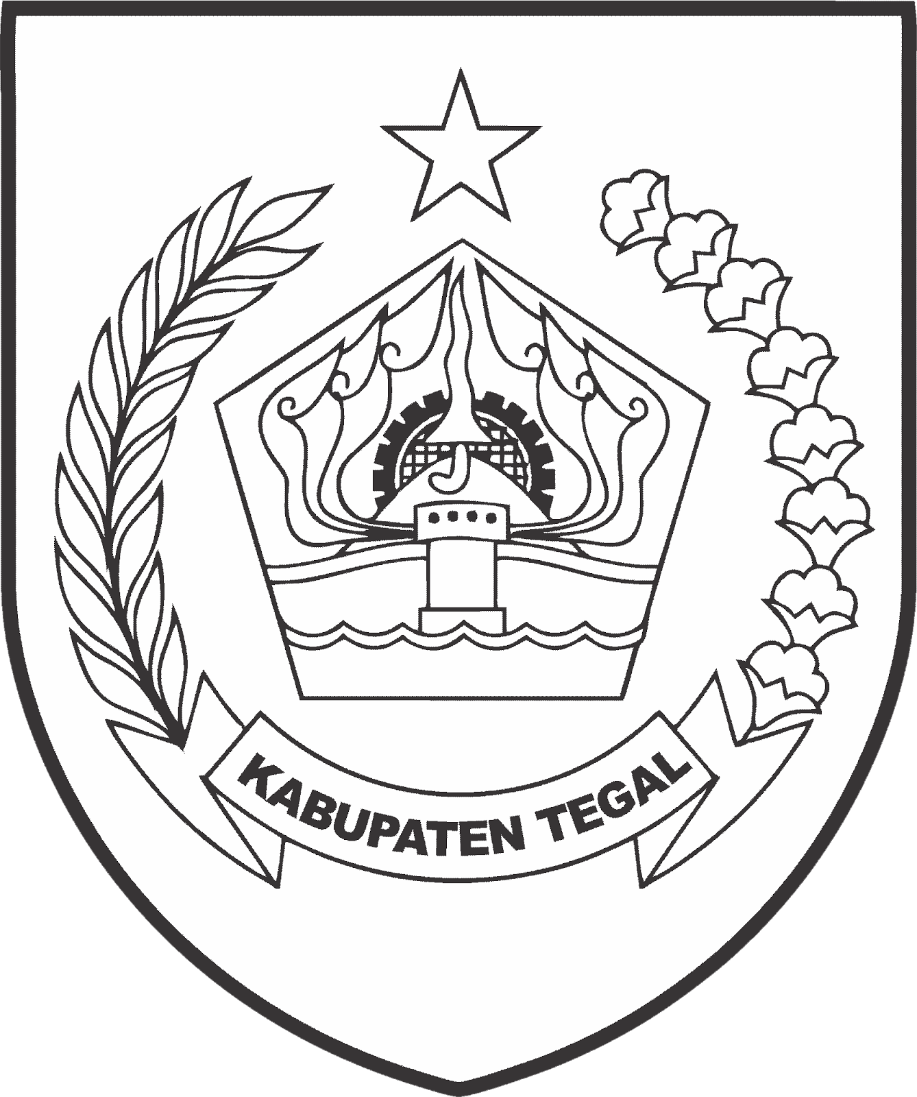 Download Logo kabupaten tegal PNG HD | DODO GRAFIS