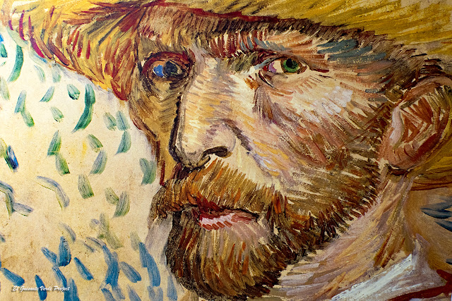 Vincent Van Gogh, Autorretrato con Sombrero de Paja - Van Gogh Museum, Amsterdam por El Guisante Verde Project