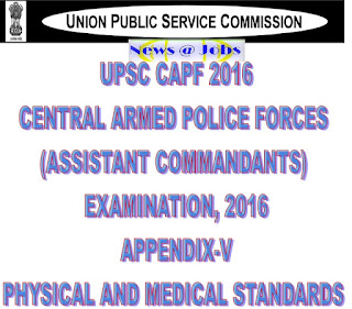 upsc+capf+physical+and+medical+standards