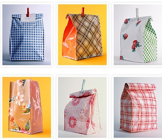 Maggie Muggins Designs Strawberry Tote Variation The