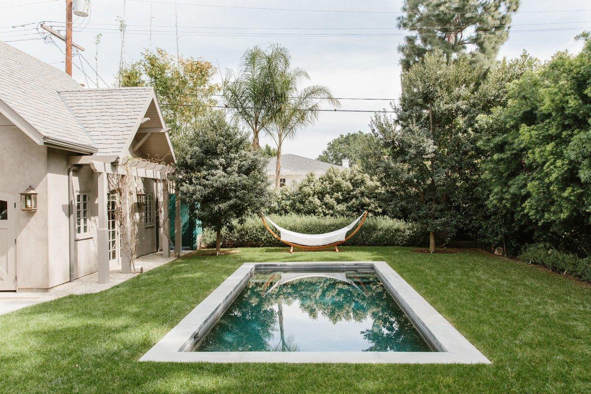 Erin Fetherston backyard