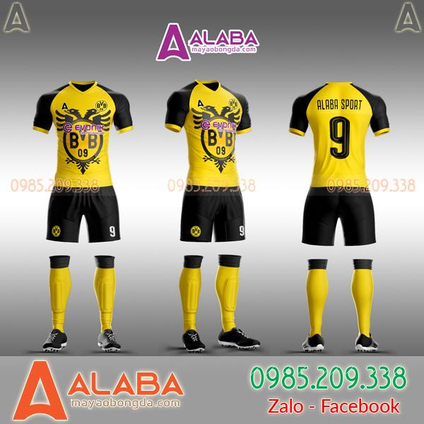 Áo CLB Dortmund 2019 tự thiết kế mã ALB DO01