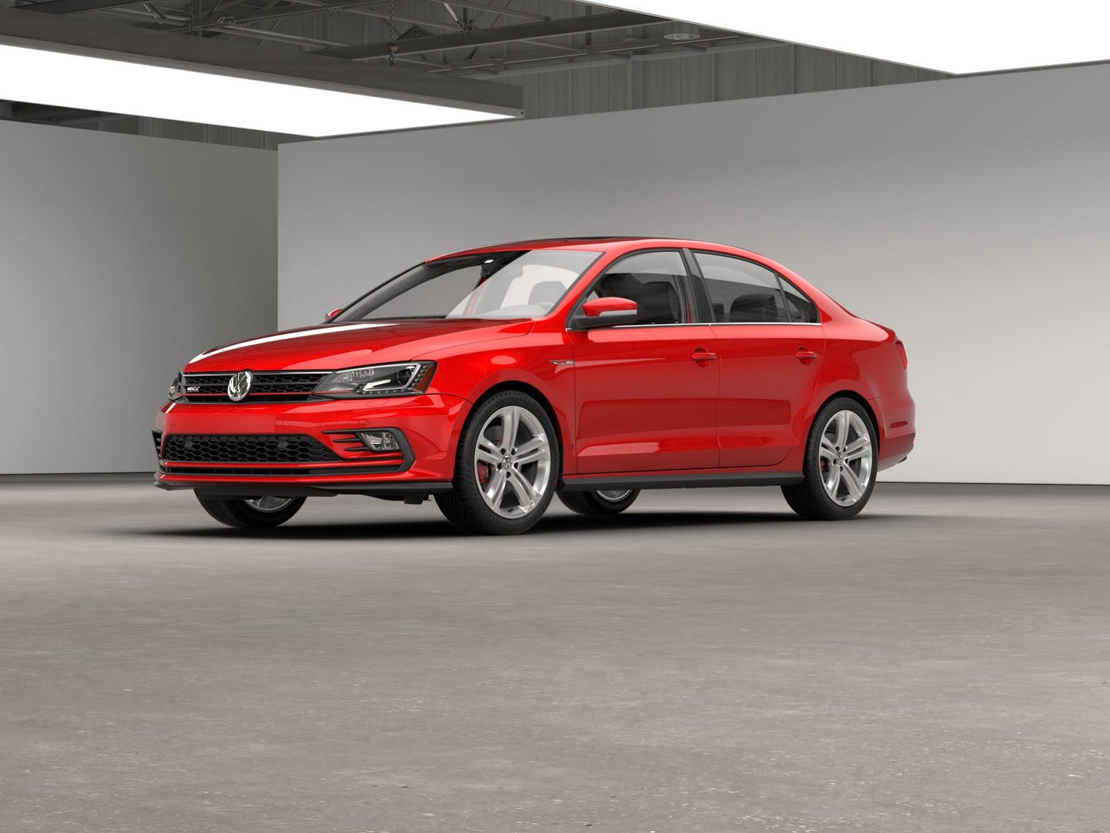 2016 VW Jetta GLI Gets A Subtle Facelift, Retains Golf GTI ...