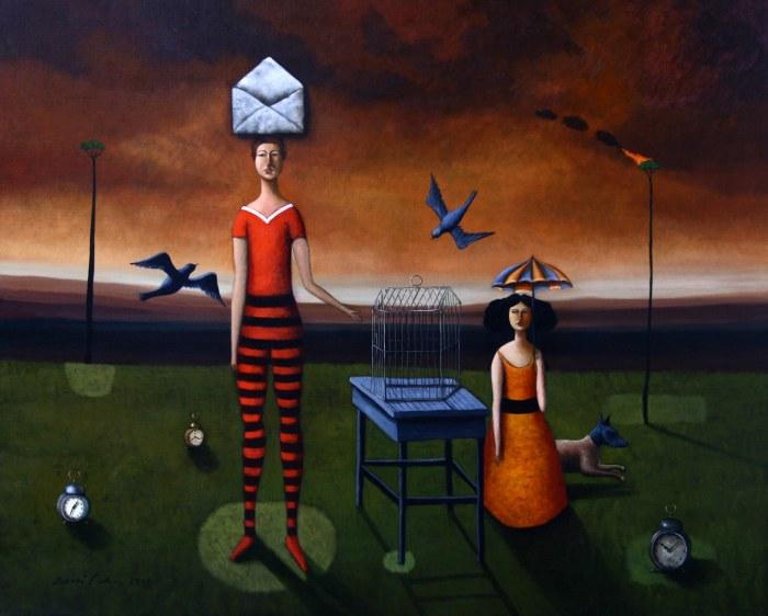 Чилийский художник. Edwin Rojas