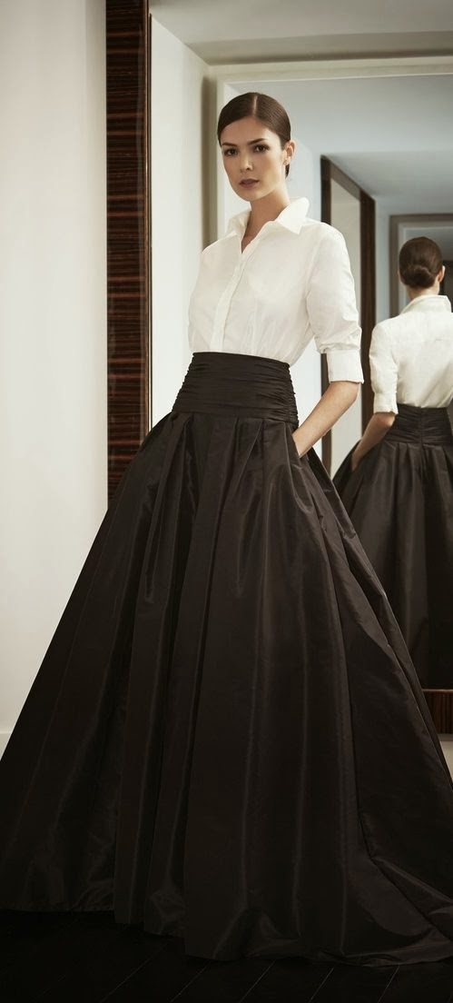 BE FASHIONABLY: Faldas largas...