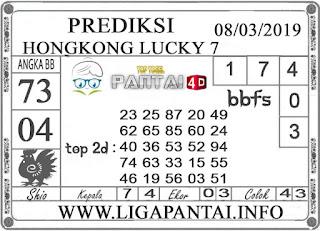 "Prediksi Togel ""HONGKONG LUCKY 7"" PANTAI4D 08 MARET 2019"