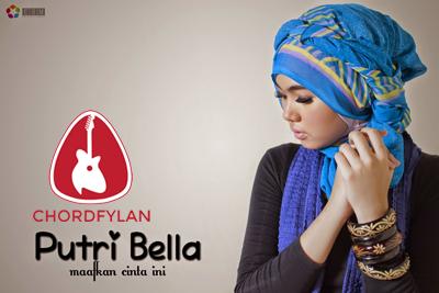 Lirik dan Chord Kunci Gitar Maafkan Cinta Ini - Putri Bella