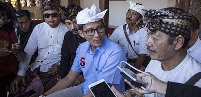 Jelang Debat Cawapres, Sandi Bocorkan Peran Ma'ruf Amin di Pilgub DKI