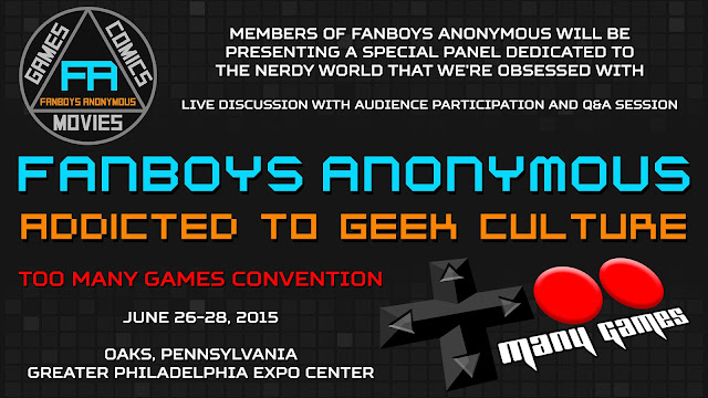 Fanboys Anonymous Too Many Games 2015 photos
