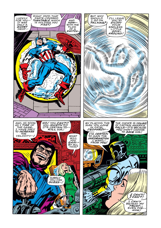 Read online Captain America (1968) comic -  Issue #108 - 13