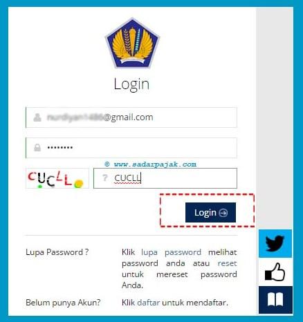 register npwp online