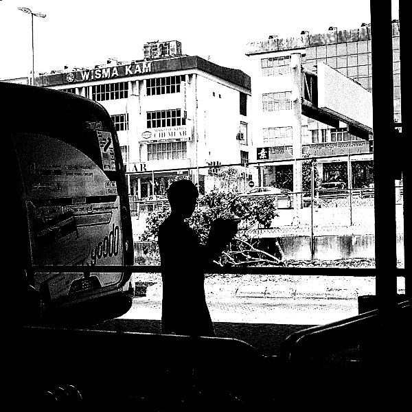 Pentax MX: Street Squares 05