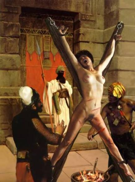 Crucifixion is a pretty ancient punishment.