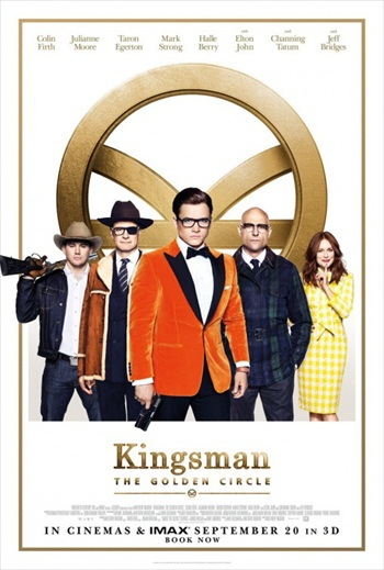 Kingsman The Golden Circle 2017 Hindi Dubbed pDVDRip x264 700MB