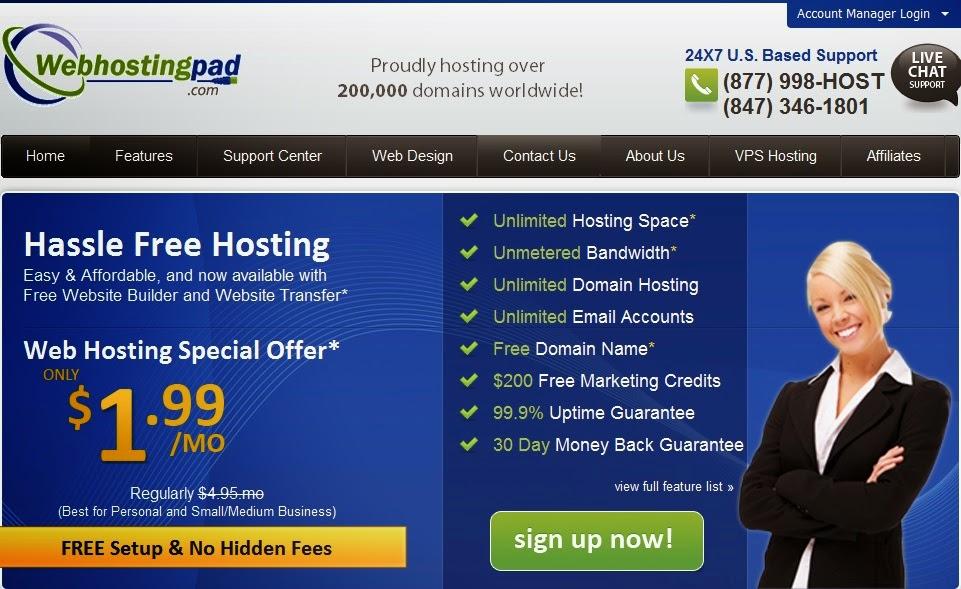 review web hosting terbaik webhostingpad