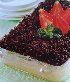 Gambar Resep Tiramisu Cokelat Keju