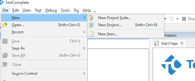 testcomplete-create-project