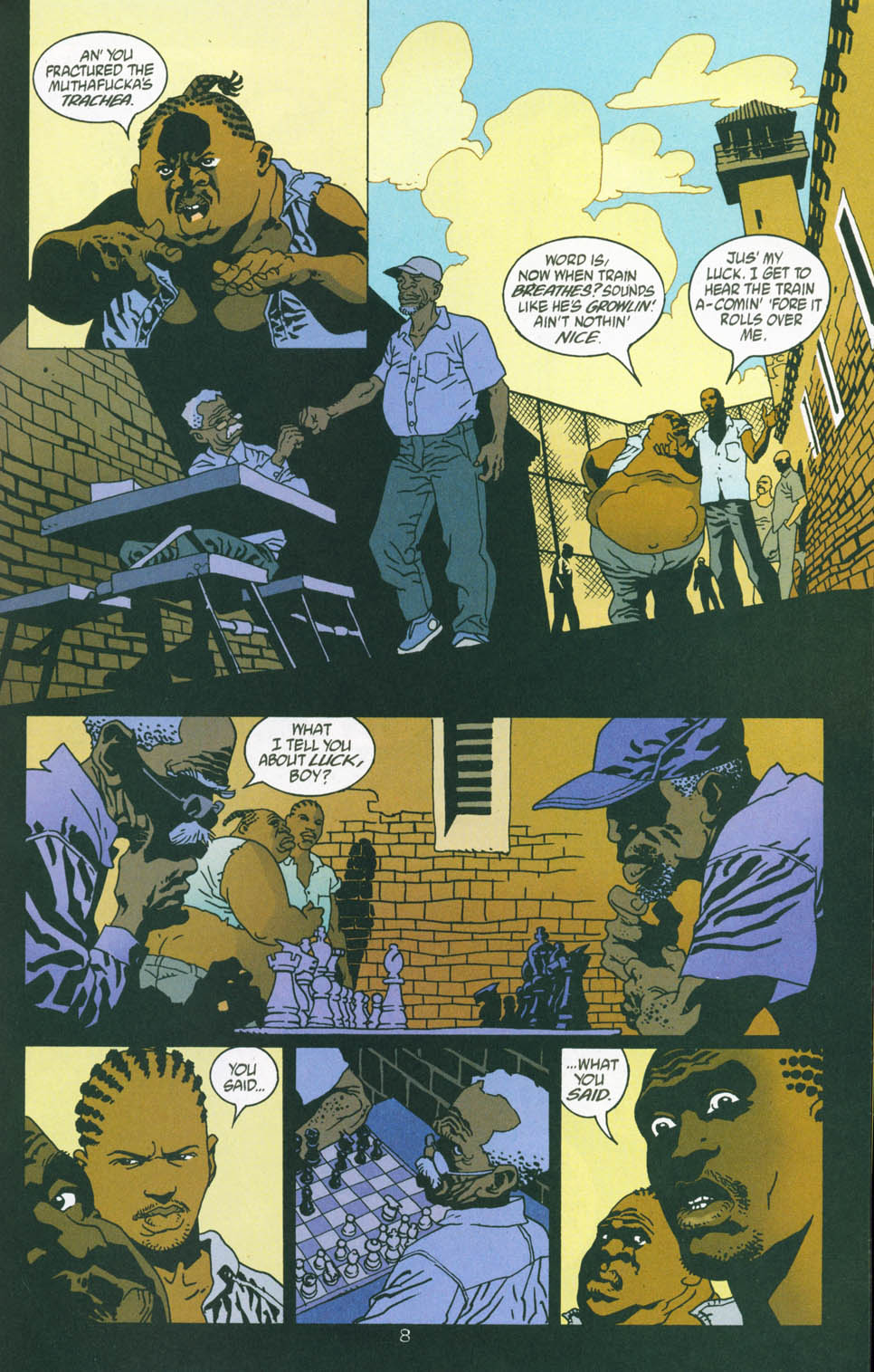 Read online 100 Bullets comic -  Issue #45 - 10
