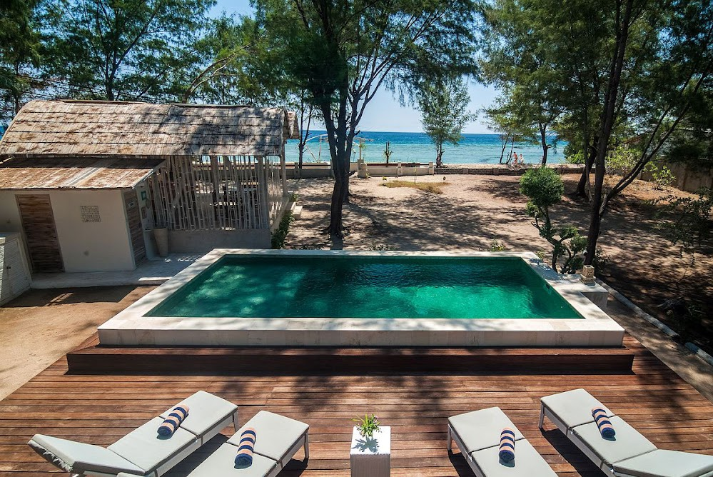 Stunning Seaside Resort on the Balinese Island of Gili Trawangan