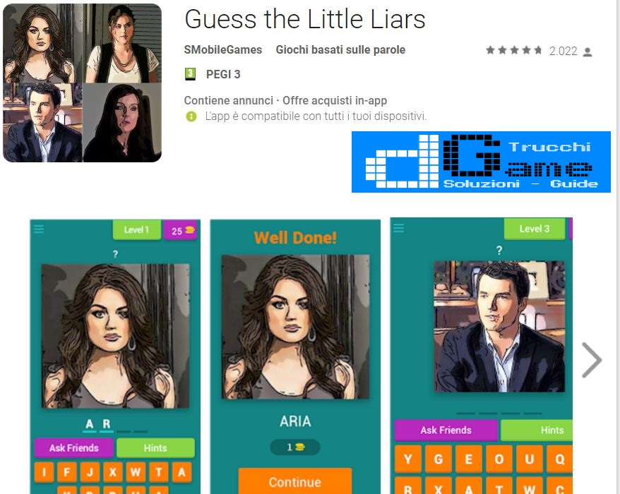 Soluzioni Little Liars | Tutti i livelli risolti con screenshot soluzione