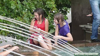 Cute girls. Wetlook. Video