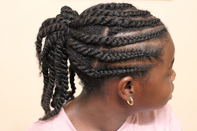 Natural Hairstyles for Teen Girls