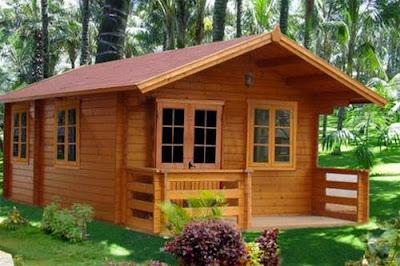 Desain Rumah Papan Minimalis Modern Tampilan Alami 3