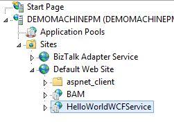 published webservice