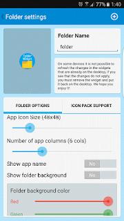 YoAndroideo.com: Foldery Multicon Folder Widget, un todo a mano en nuestro escritorio