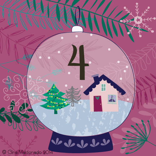coco gigi design day 4 advent calendar. Black Bedroom Furniture Sets. Home Design Ideas