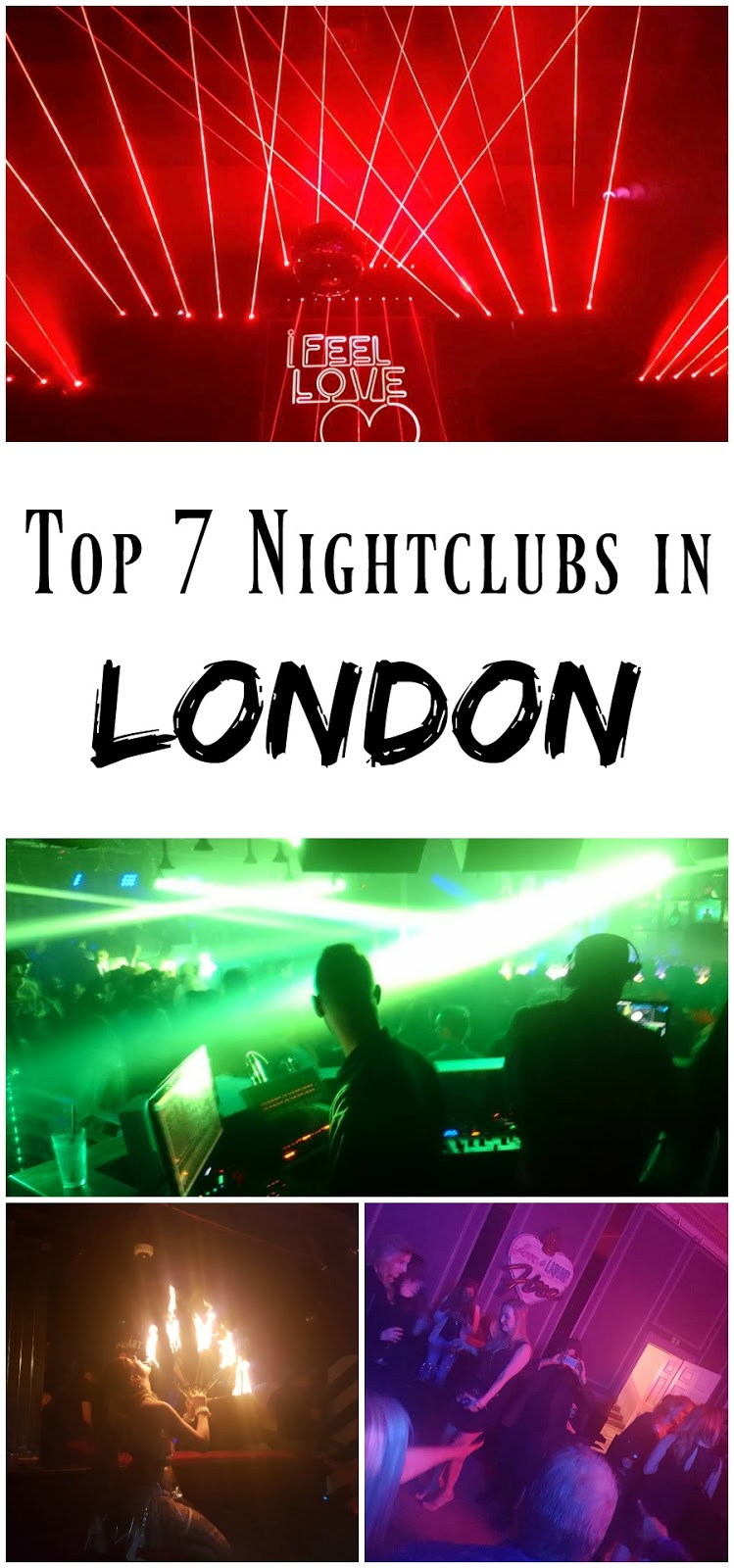 PIN FOR LATER: The Top 7 Luxury Nightclubs in London, and how you can access them!