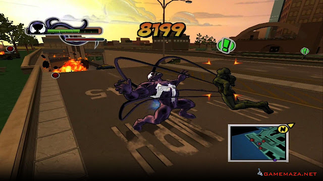 Ultimate Spider Man Gameplay Screenshot 3