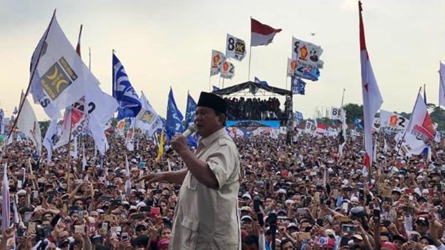 Prabowo: Ada yang Bilang yang Menang Saya, Tapi yang Dilantik Orang Lain
