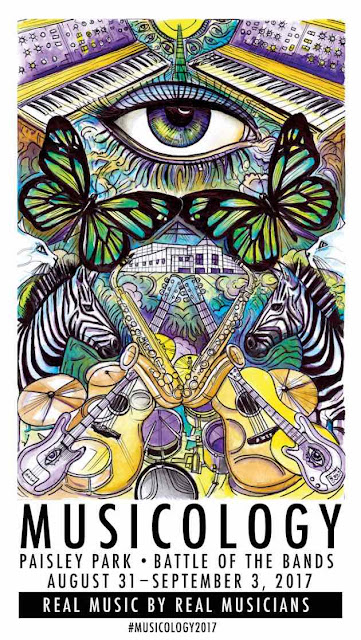 Musicology 2017 Poster - Art illustration by Spencer Derry