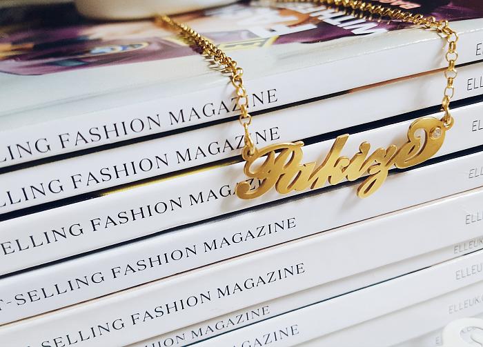 Personalisierte Carrie Style Namenskette von Namesforever & Giveaway / Gewinnspiel - Madame Keke Luxury Beauty & Lifetstyle Blog 1