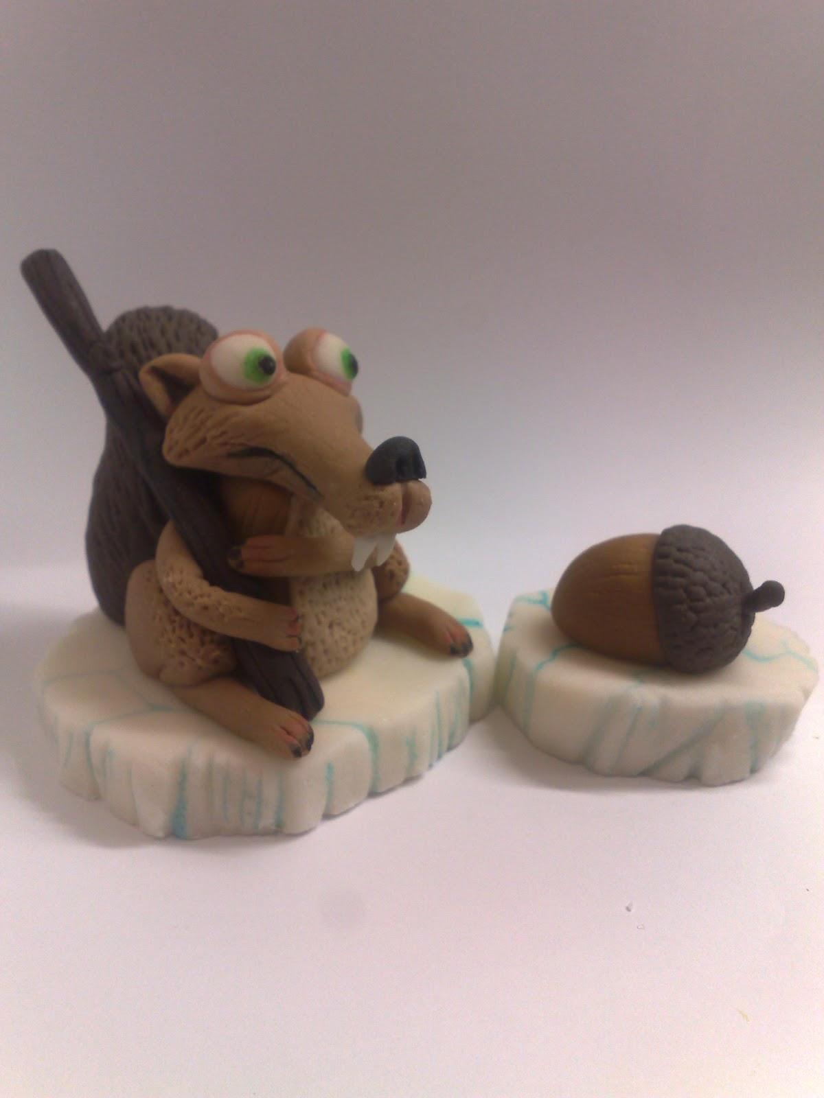 studio fondant design ana figurice za torte fondant figures skret ledeno doba scrat. Black Bedroom Furniture Sets. Home Design Ideas