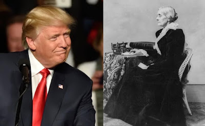 Trump commemorates Susan B. Anthony: She fought for rights of women and 'innocent unborn babies'