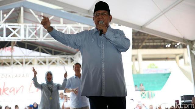 Pembakaran Bendera HTI, Prabowo: Kita Harap Selesai Sebaik-baiknya