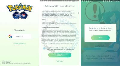 Cara instal dan pasang Pokemon GO di HP Android