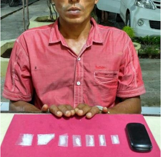 "Alih Profesi, Seorang petani diamankan Tim Opsnal Sat Resnarkoba Polres Pidie diduga ""Meukat Sabee"""