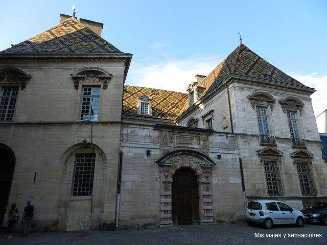 Palacio de Vogué, Dijon, Borgoña, Francia