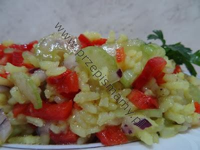 Ryż duszony z warzywami