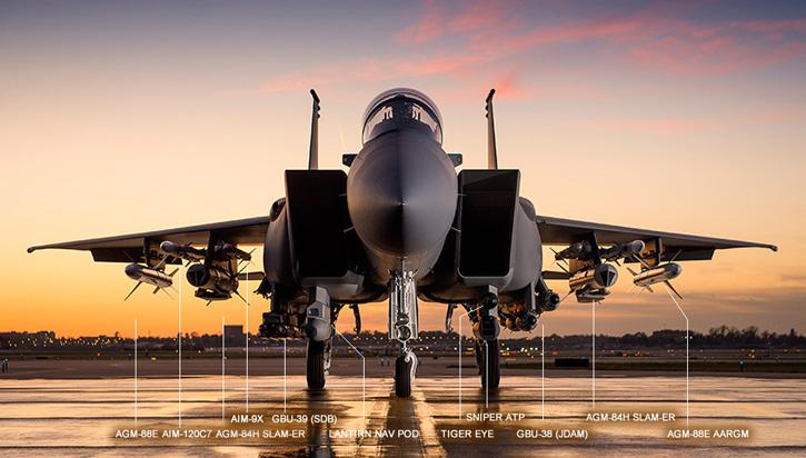 F-15SA Jet Tempur Paling Mematikan di Kelasnya