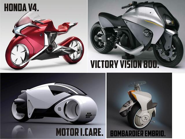 Konsep Sepeda Motor Masa Depan Yang Akan Manusia Gunakan Nanti