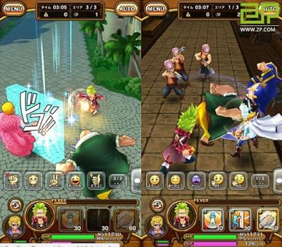 One Piece Thousand Storm Apk+Data
