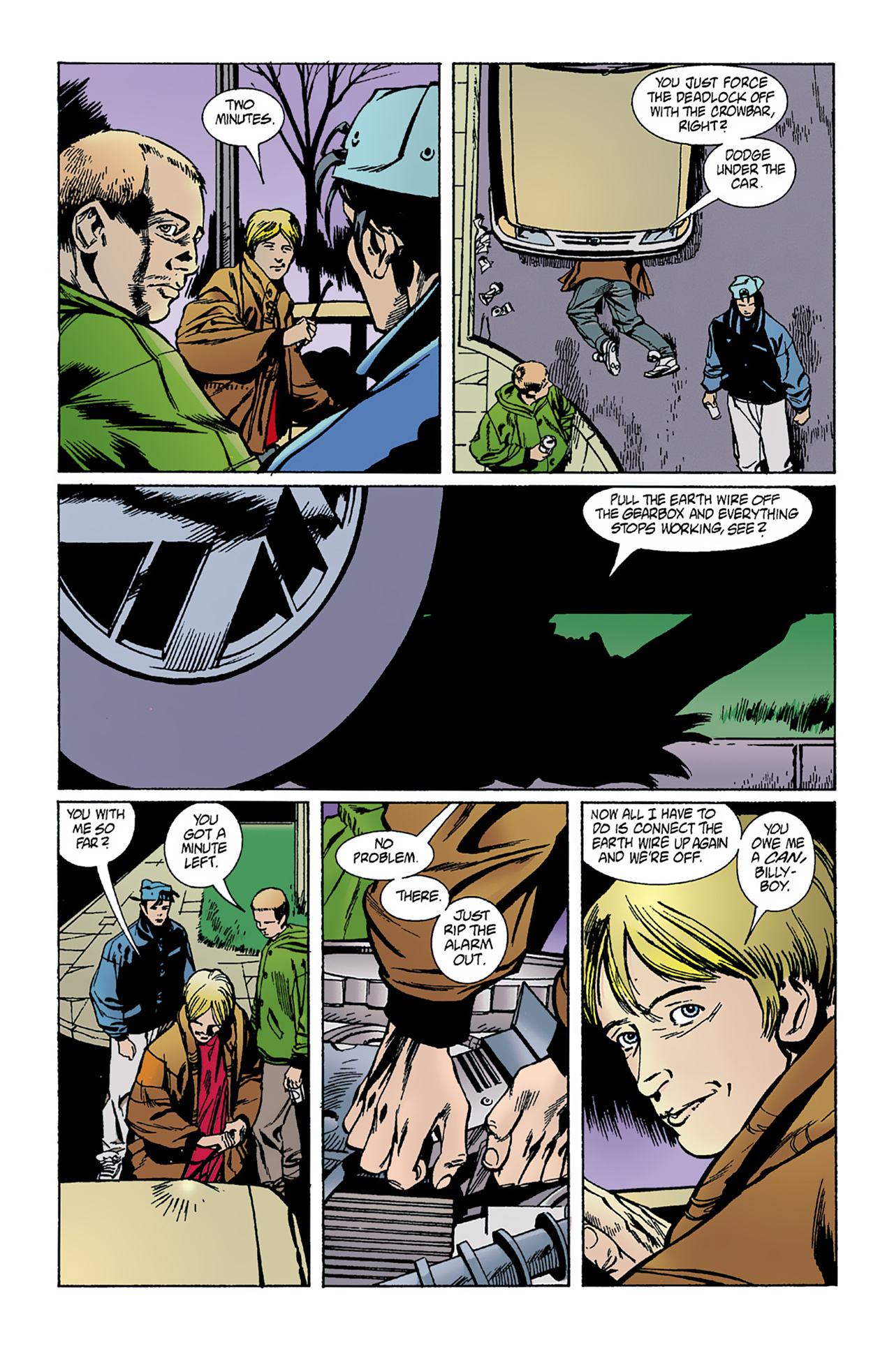The Invisibles (1994) 1 Page 15