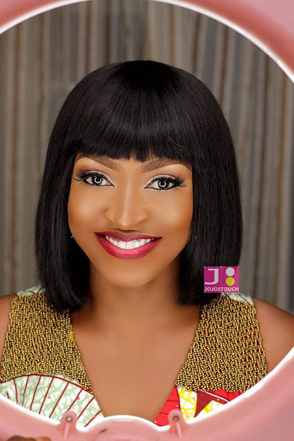 Stunning new makeup photos of Kate Henshaw